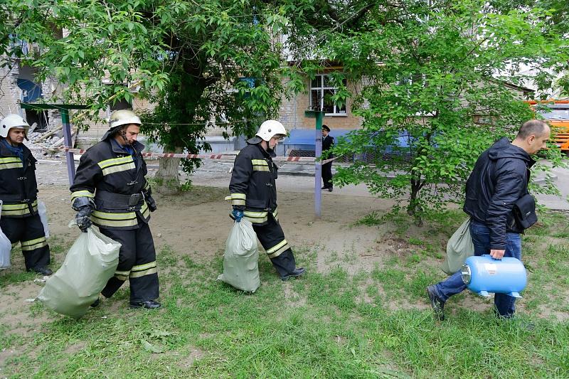 ВВолгограде после взрыва снесут два подъезда дома