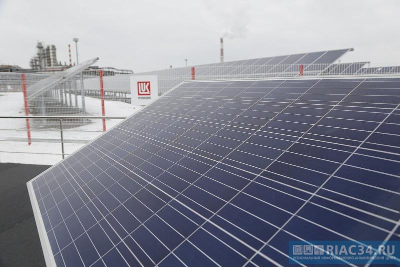 ВВолгограде запустили солнечную электростанцию