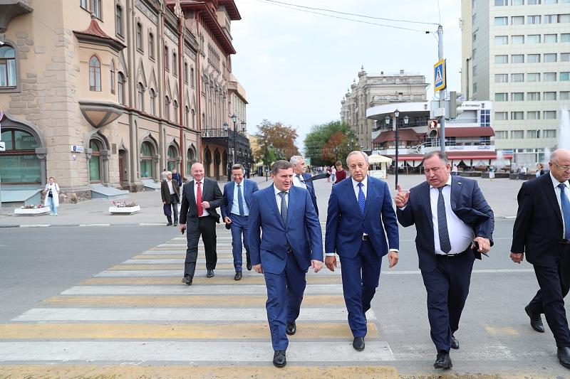 Волгоградская иСаратовская область сейчас будут дружить еще крепче