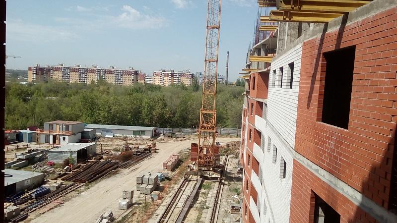 ВВолгограде возобновлена стройка долгостроя поулице Героев Тулы