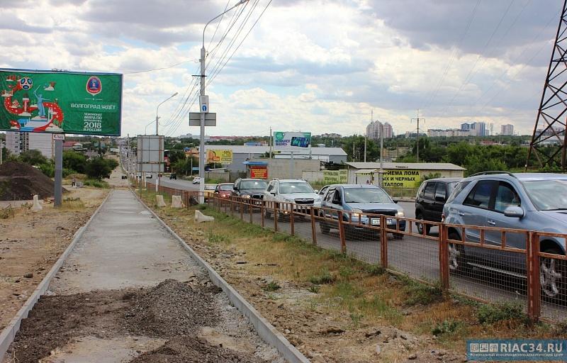 На 3-й Продольной автодороги вВолгограде уложили 80% выравнивающего слоя асфальта