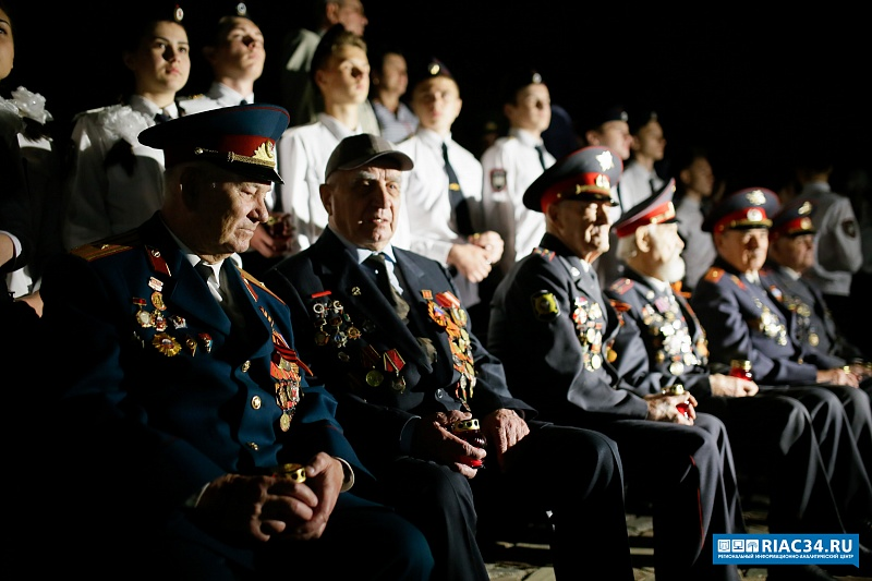 3,5 тысячи силовиков участвовали впамятной акции наМамаевом кургане