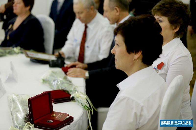 ВВолгоградской области лучшим из наилучших  вручили государственные награды