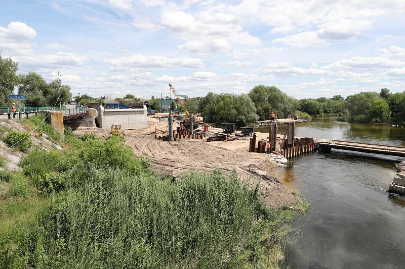 Мост через Бузулук сдадут вВолгоградской области доконца года